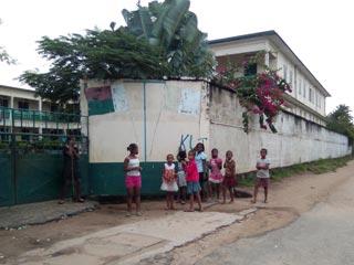 L'orphelinat d'Antalaha à Madagascar