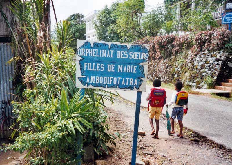 Orphelinat des Sœurs Filles de Marie à Madagascar