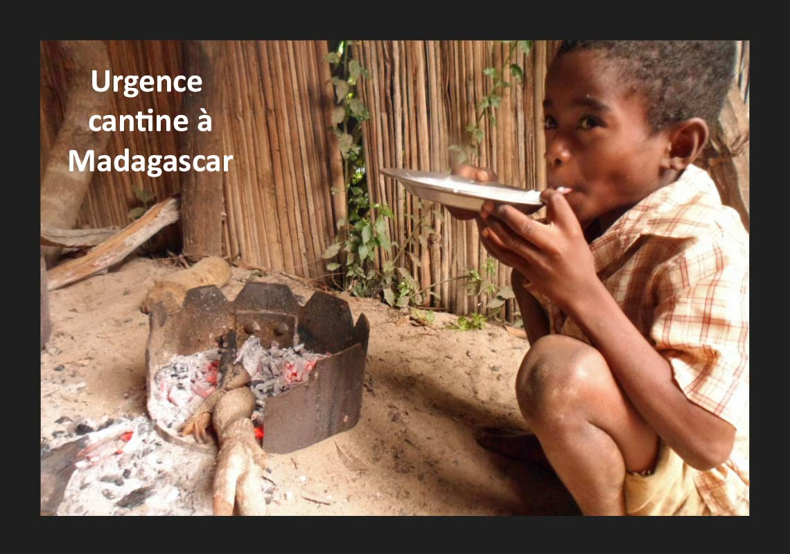 Urgence cantine à Madagascar