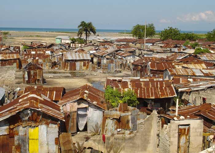 Le bidonville de Cité-Soleil en HaÏti
