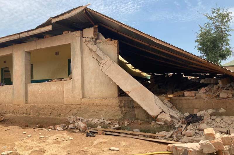 L'école primaire Bumi de Karavia en RDC détruite lors d'une attaque sauvage au bulldozer
