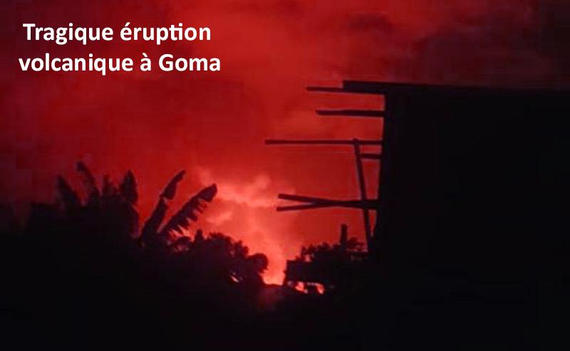 RDC : éruption volcanique à Goma, notre école Muja détruite