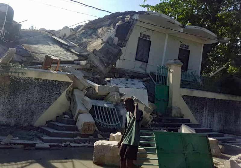Puissant séisme en Haïti